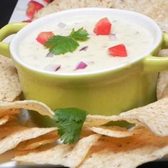 """Mexican White Cheese Dip/Sauce 