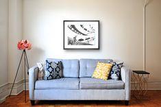 22 Alluring - Elegant Home Interior And Decor Ideas : Ineffable blue fabric loveseat Sofa Living, Living Room, Furniture Decor, Bedroom Furniture, Bedroom Sofa, Furniture Online, Unique Furniture, Furniture Design, College Apartments
