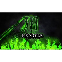 Flag with metal ring 3x5ft Monster energy  #Unbranded