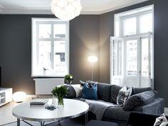 one hour gray living room