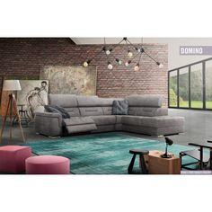 Domino ülőgarnitúra - rendelhető opció: elektromos relax funkció , ágyazható kanapé: Easy System , Simple System
