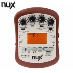 NUX PA-2 Electric Guitar Effect Pedal 18 types of preset 24bit Multifunctional Portable Guitarra Effect Guitar Accessories #Affiliate