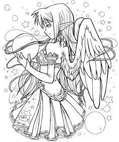 Anime Coloring Pages To Print