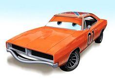 Hollywood Cars - ver. Pixar