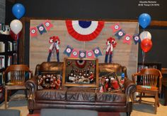 AHG Ceremonies: This was our 2014 picture booth back drop we did to take pictures at our award/crossover ceremony. We had picture frames and photo signs props for the girls to hold.