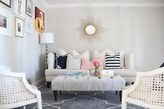 Living room decorating Caitlin Wilson | Northern California Living Room
