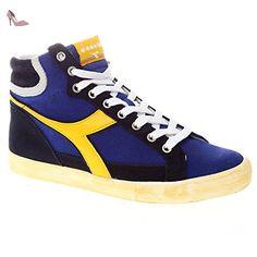 Diadora , Baskets pour homme Bleu BLU GIALLO 4.5 - Chaussures diadora  (*Partner-