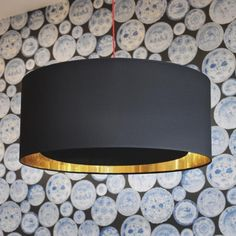 Black and Gold Ceiling Diffuser - Lamp Shades - Lighting Accessories - Lighting & Mirrors