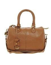 ASOS Leather Bowler Bag