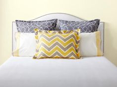 Don't just slap down two sorry-looking pillows! Get inspired by one of these mix-and-match formulas straight from the pages of HGTV Magazine.