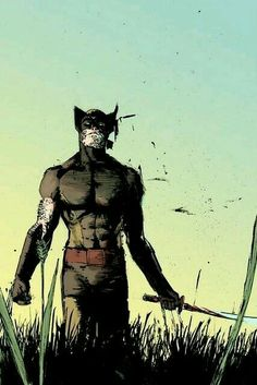 Marvel Wolverine, Logan Wolverine, Marvel Art, Marvel Dc Comics, Marvel Comic Character, Comic Book Characters, Comic Book Heroes, Marvel Characters, Comic Books Art