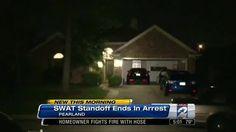 Suspected burglar arrested after SWAT standoff