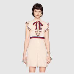 Gucci Sylvie Web stretch jersey dress Detail 3