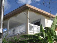 La canne Bleue Haut de villa cr�ole - Proche anse Mabouya - Location Appartement #Martinique #SainteLuce