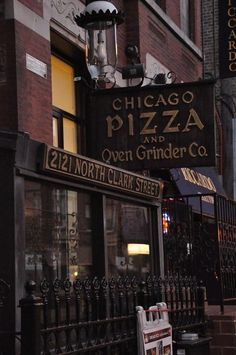 Chicago Pizza and Oven Grinder . One of my favorite all time restaurants! Yumm!! - CASH ONLY!!!