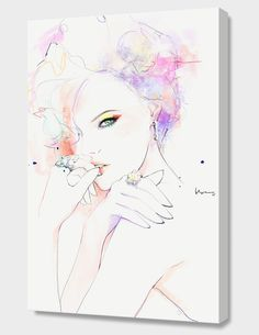 """""""Seductive#2"""", Numbered Edition Canvas Print by Floyd Grey - From $89.00 - Curioos"""