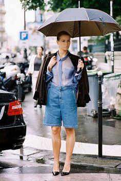 Vanessa Jackman: Paris Couture Fashion Week AW 2014....Vika