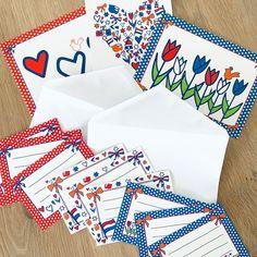 Nieuw in de collectie van Studio Holland zijn de adresstickers! ❤️💙 Drie unieke adresstickers, in rood, wit en blauw. Verkrijgbaar per stuk, maar ook als voordeelset met 30 stuks. Versier je enveloppen in Studio Holland stijl, schrijf het adres er op, kaartje er in, dichtplakken en versturen maar! 📮  Echte post is zo veel leuker! 💌  #adressticker #studioholland #post #kaarten #dutch #thenetherlands #nl #studioplume #roodwitblauw #hartjes #tulpen #klompen #molen  #hipenstipkaarten… Holland, Gift Wrapping, Stickers, Studio, Gifts, Tulips, The Nederlands, Gift Wrapping Paper, Presents