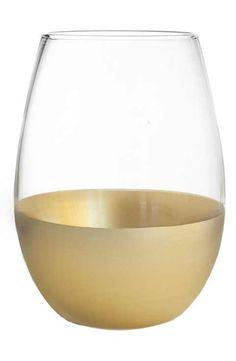 American Atelier Set of 4 Jane Stemless Wine Glasses