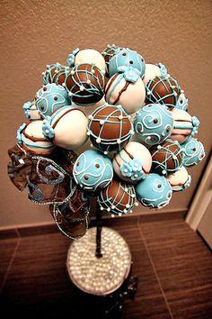cake pop topiary