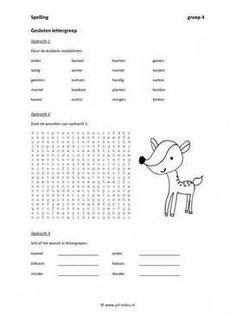 Werkblad bij taal op maat spelling taal op maat pinterest school - Werkblad bo is op maat ...