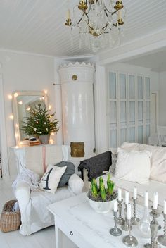 ☆ White Christmas Wonderland ☆  mini tree