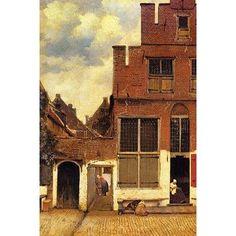 Buyenlarge 'The Little Street' by Johannes Vermeer Painting Print