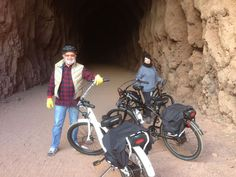 One of Pedego Henderson Electric Bikes' favorite trails for bike rentals and tours is filled with history. The trail is about 3.5 miles long one way and there are five tunnels that are approximately 25 feet in diameter. The trail runs from Lake Mead National Recreation Area entrance to the back of the Hoover Dam Parking Garage.