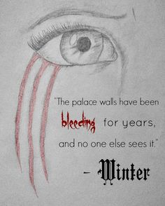 "Fan art by Bethany Watson: Princess Winter ""Cress"" by Marissa Meyer"