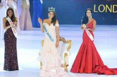 Sudafricana Rolene Strauss gana el certamen de belleza Miss Mundo 2014. Foto: EFE