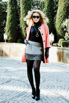Plait, Skirt Outfits, Cool Girl, Leather Skirt, Autumn Fashion, Mini Skirts, Dressing, Feminine, Classy