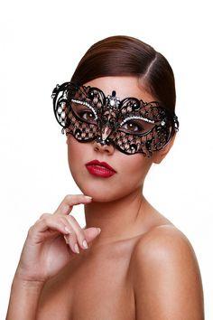 Venetiaans masker - MIDNIGHT