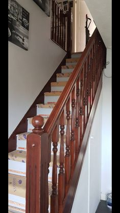 Bannister, Stairs, Home Decor, Stairway, Staircases, Interior Design, Ladders, Home Interior Design, Ladder
