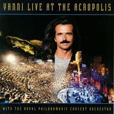 Yanni.  Love his brilliance.  This CD never gets old.
