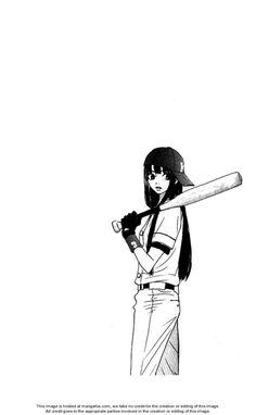Sawako as a baseball player (Kimi ni Todoke)