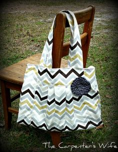 NEW Pleated purse with gray gold and cream by TheCarpentersWife, $40.00