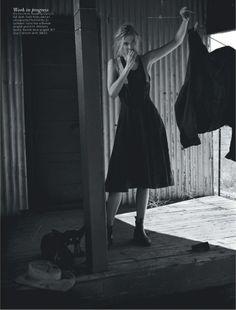 Elizabeth Debicki Vogue Australia December