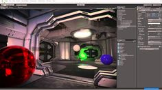 Unity 5 Graphics - Lighting Overview - Unity Official Tutorials Unity Tutorials, Unity Games, 3d Software, Game Engine, Blender 3d, Game Dev, Game Design, Jukebox, Engineering