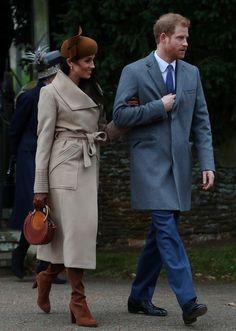 La primera Navidad de Markle con la familia real(REUTERS)