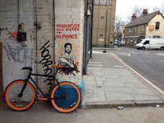 #108 Street Art in Hackney Wick