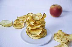 Für gute Vorsätze: Selbst gemachte Apfelchips