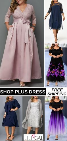 Sexy Plus Size Summer Dress For Curvy Women - Summer Dresses Mob Dresses, Plus Size Dresses, Women's Fashion Dresses, Plus Size Outfits, Plus Size Summer Dresses, Sexy Summer Dresses, Pretty Dresses, Mother Of Groom Dresses, Mothers Dresses
