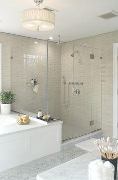 Bath Design Ideas, Shower Tub combo