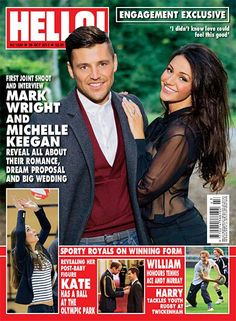 Issue 1300: Michelle Keegan and Mark Wright reveal proposal details exclusively to HELLO! in first ever interview as a couple