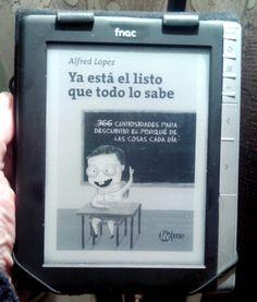 Ebook del libro 'Ya está el listo que todo lo sabe' Cómpralo por tan solo 5,99€: https://www.shoplocket.com/products/0BGDs-epub (e-Pub) https://www.shoplocket.com/products/evA3n-version-mobi (Mobi)