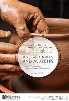 """Psalm 100:3 