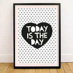 Little Man Happy Today Poster (50x70 cm) | selekkt.com