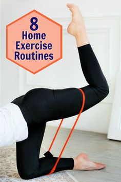 You don't need an expensive fitness club membership or fancy gym machines to have a great workout. In fact, sometimes home workouts produce better results than the gym. Try any of these highly effective home exercise routines. Click-through for details, including videos. #homegym #exercises #routines #over50 #workout #overfiftyandfit #healthier #fitness Best Workout Routine, Home Exercise Routines, At Home Workouts, Gym Machines, Healthy Aging, High Intensity Interval Training, Hiit, Exercises, Fancy
