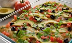Quinoa & Black Bean Green Enchiladas: a whopping 20.5g of protein per serving (vegan, gf).