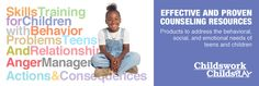 Counseling Resources - Teens and Children